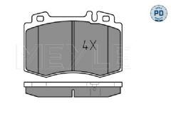 Brake pads Front 312x28mm with non drilled discs